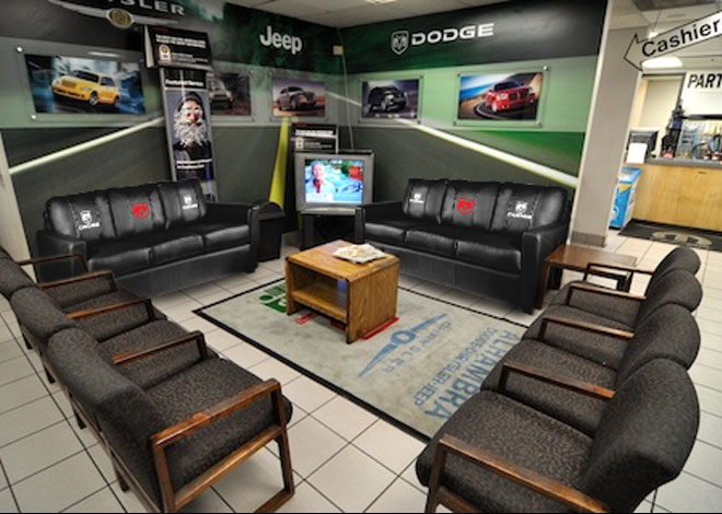 Dodge Dealership Waiting Room on education quotes