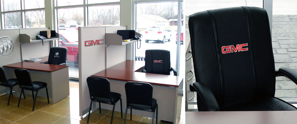 Automotive Furniture | Customized Logo Furniture
