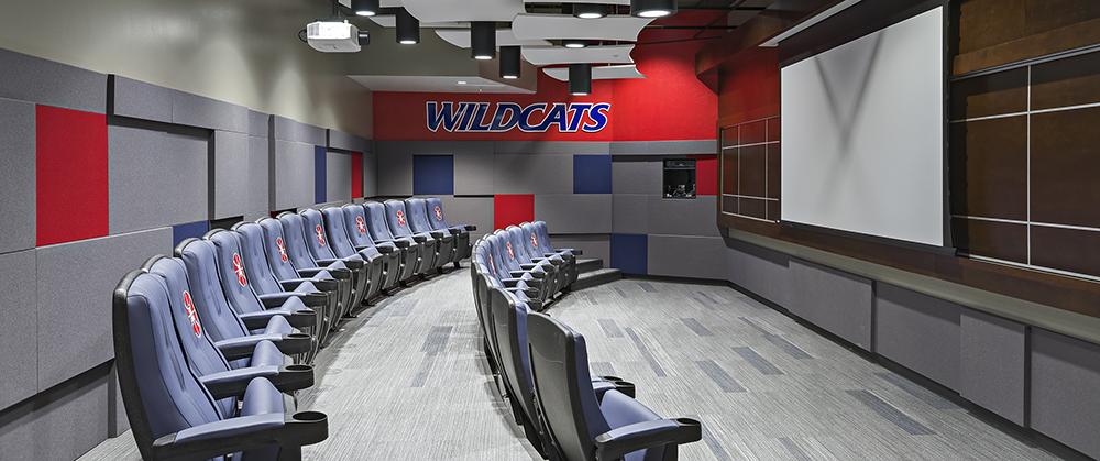 Collegiate sports furniture college custom furniture for University of arizona interior design