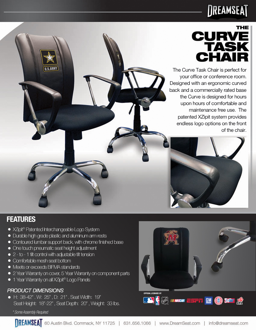 Office chair bottom