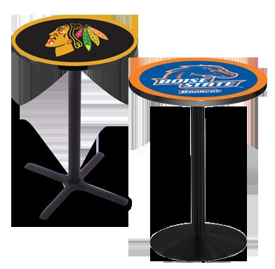 Pub tables custom furniture leather sports furniture pub tables watchthetrailerfo
