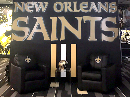 #Saints New Locker Roomu2026unreal!!