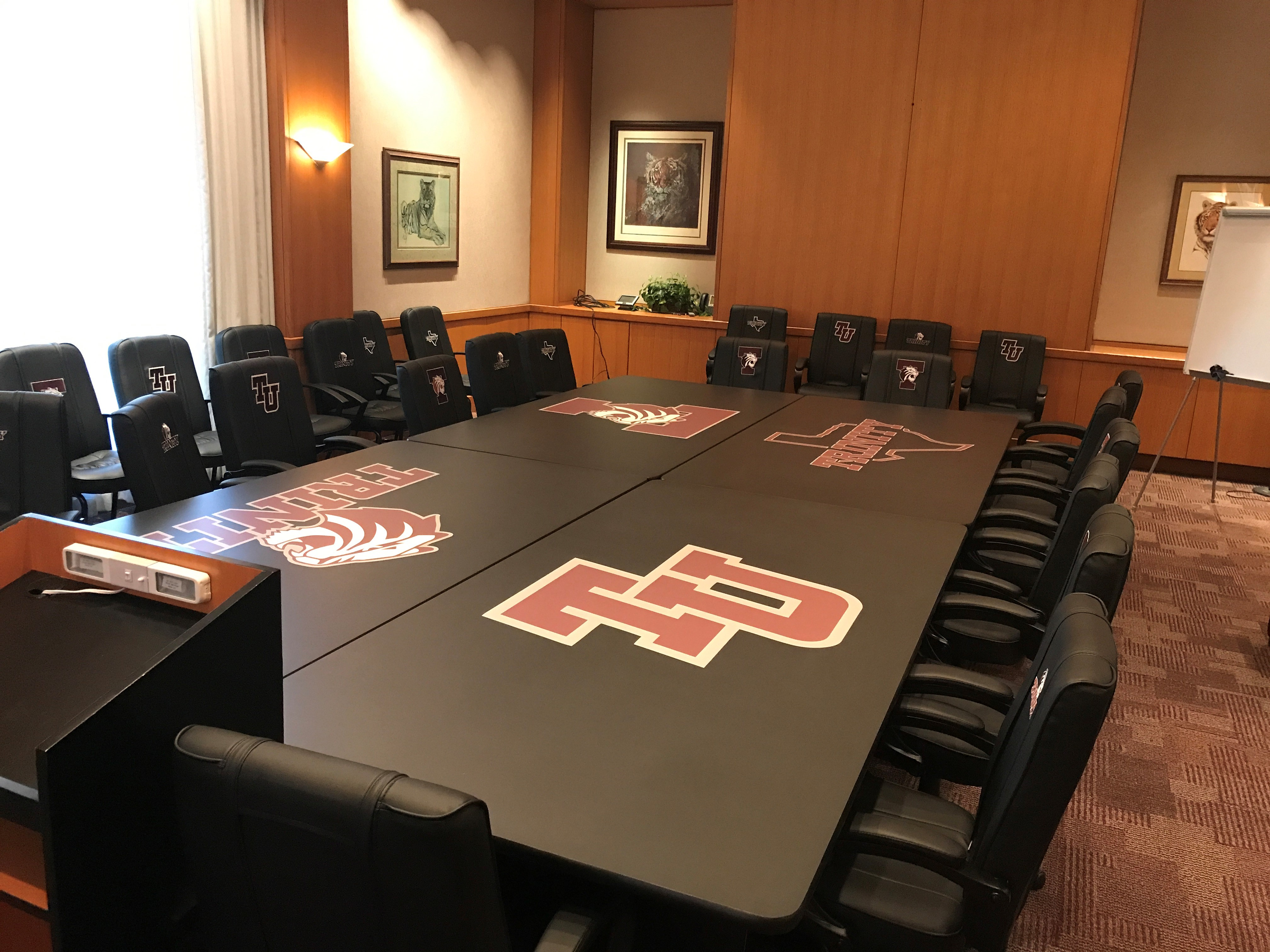 Branded Conference Room Table 6 8 10 Foot Conference