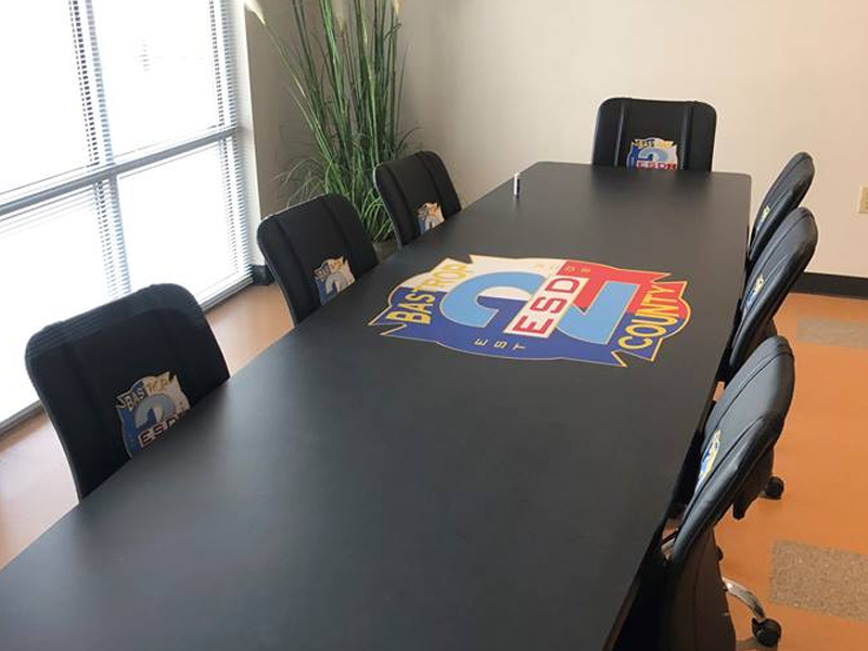 Custom Firehouse Furniture Fire Station Furniture - Homemade conference table