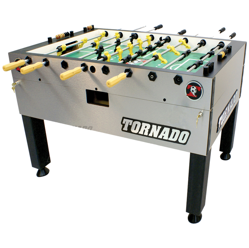 Tornado Foosball Custom Furniture Leather Sports Furniture