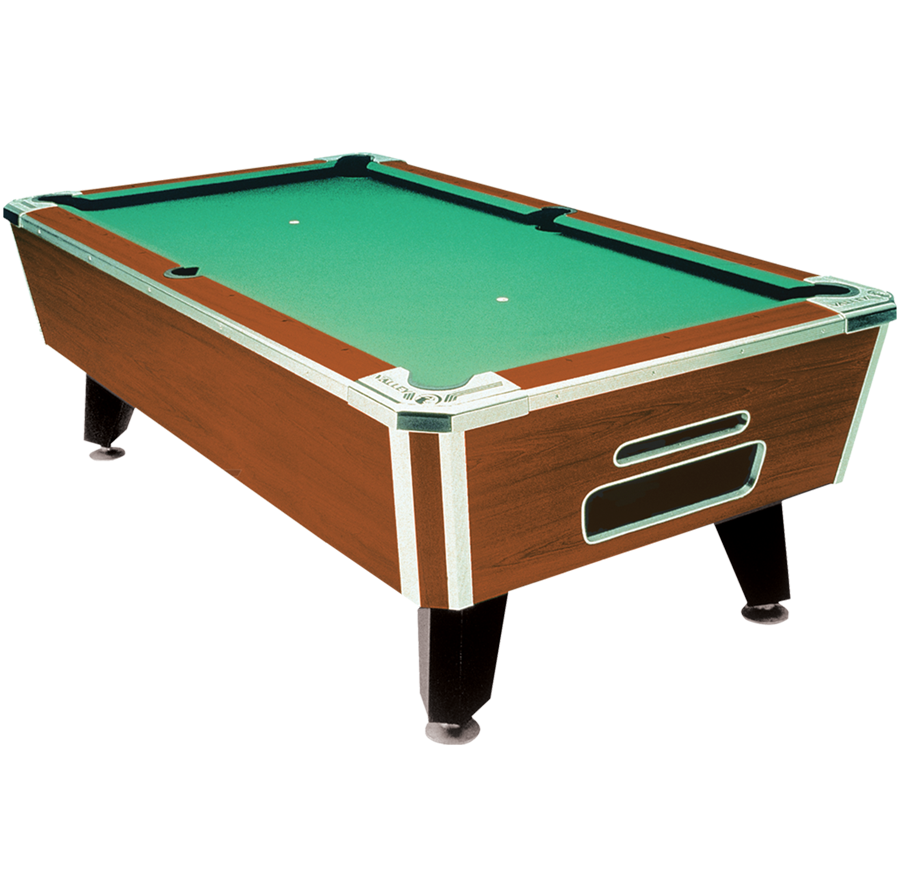 Valley Tiger Pool Table Custom Furniture Leather