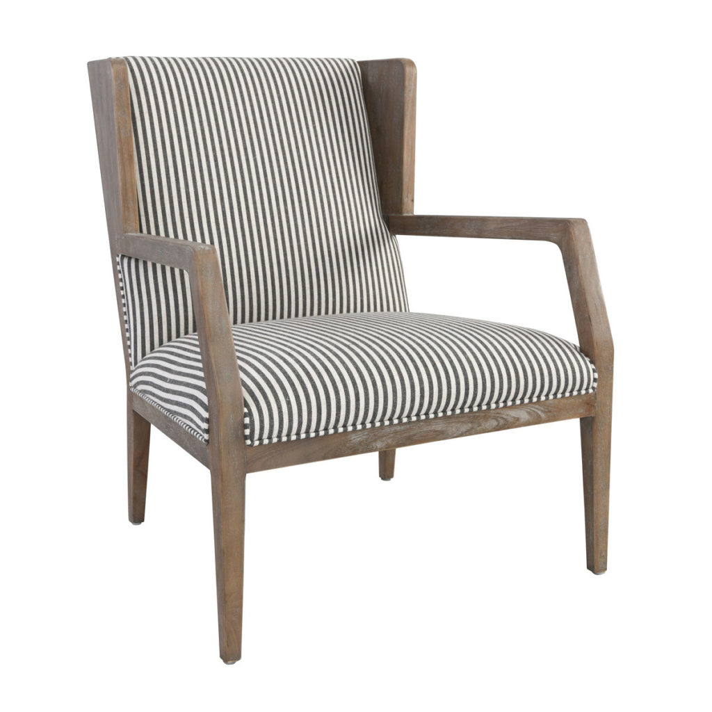 Accent Chairs - York Accent Chair Striped