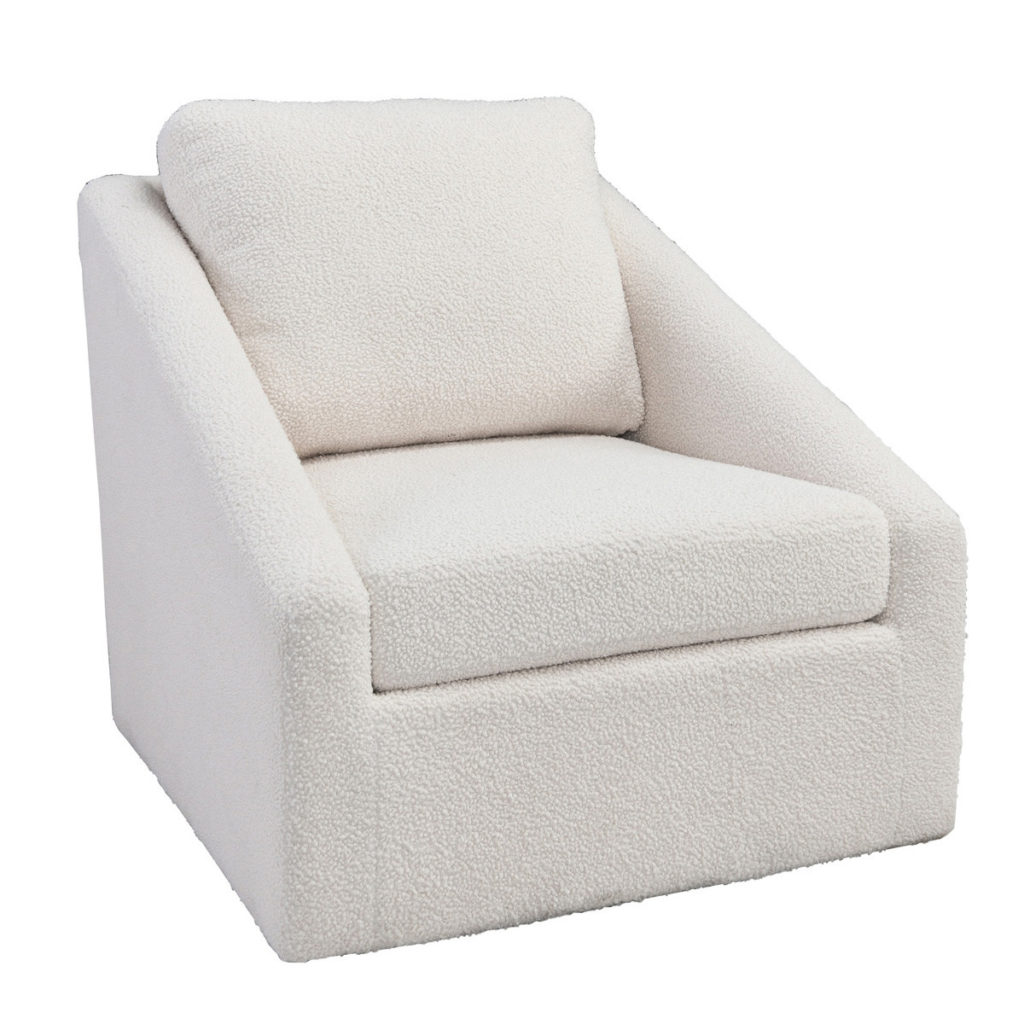 Accent Chairs - Monticello Swivel Accent Chair