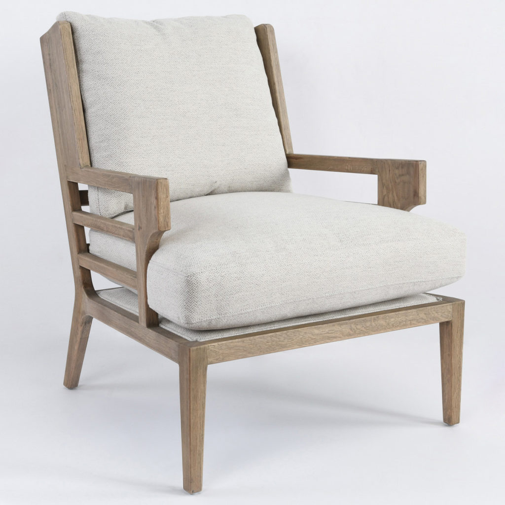 Accent Chairs - Rodger Accent Chair Pearl White
